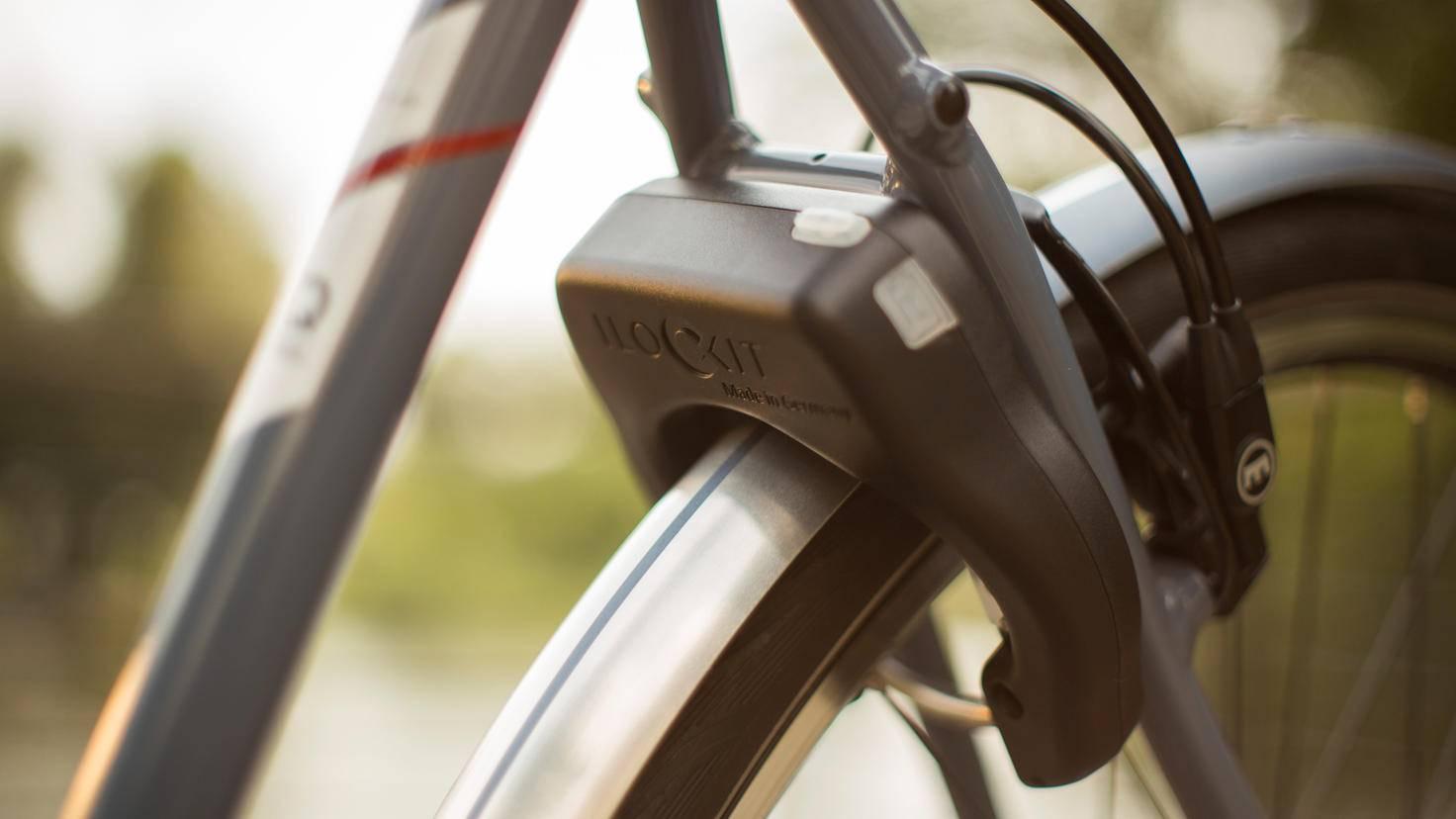 I LOCK IT smartes Fahrradschloss