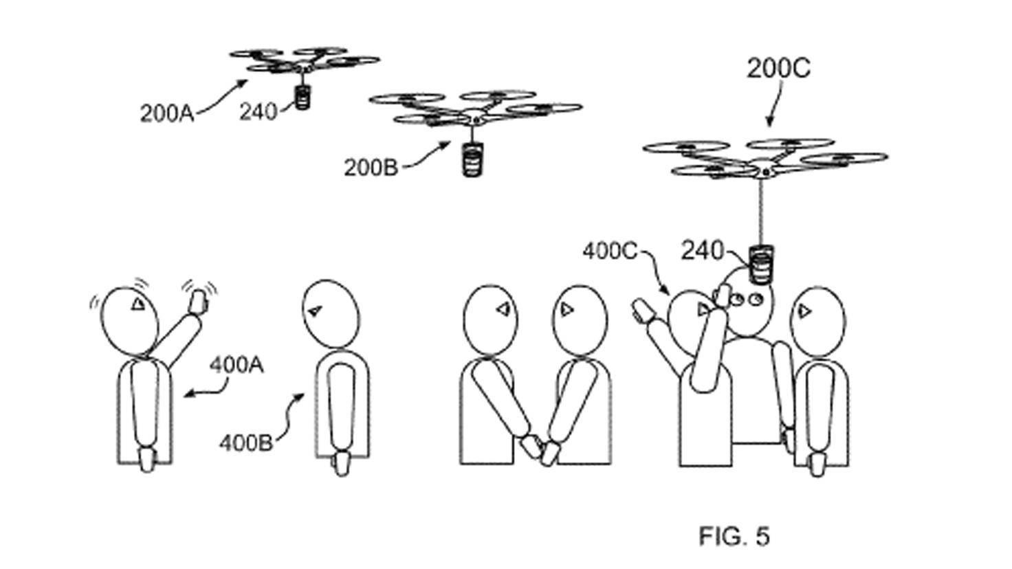 Einmal die Hand heben und schon liefert die Drohne frischen Kaffee – so zumindest ist der Plan!
