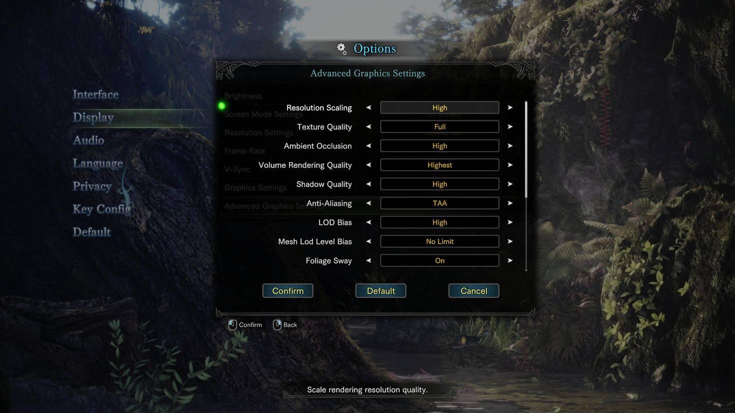 Monster Hunter World Grafik PC