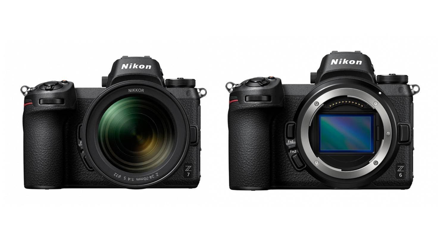 Nikon Z7 Z6