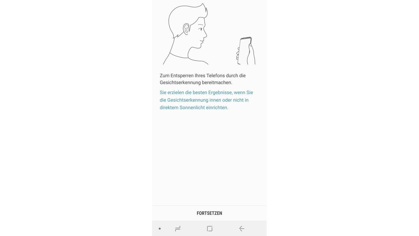 Samsung-Galaxy-A8-Gesichtserkennung
