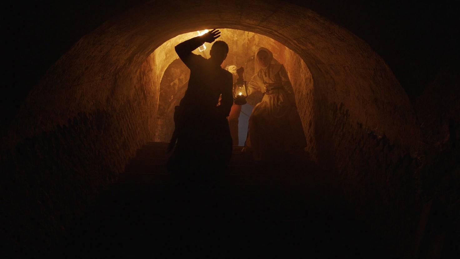 Die unterirdischen Gänge des Mogosoaia Forts dienten als Gewölbe des Klosters.