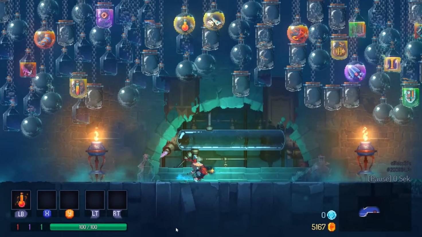 dead cells playthrough screenshot 01