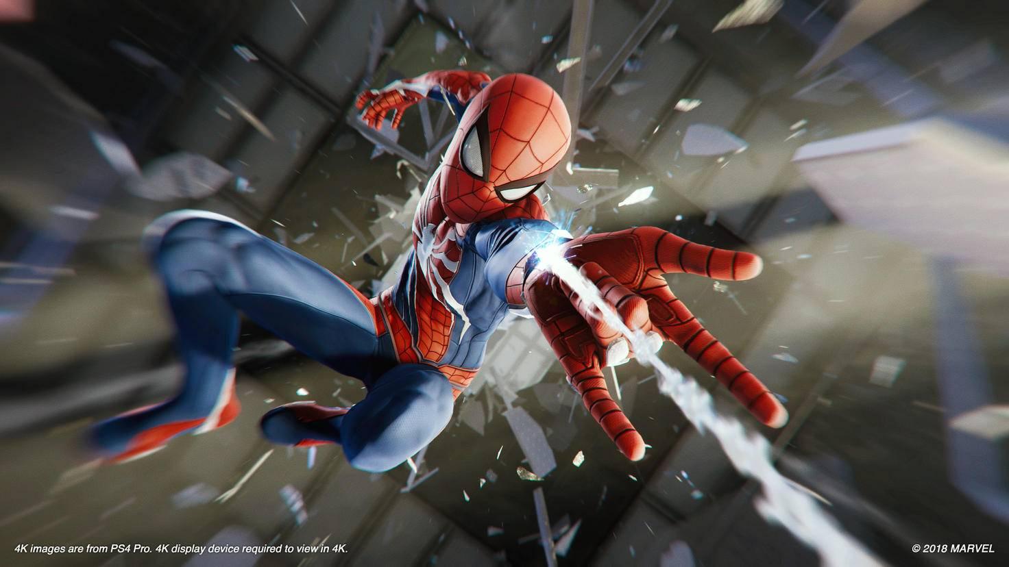Spider-Mans Netze kommen auf vielseitige Art und Weise zum Einsatz.