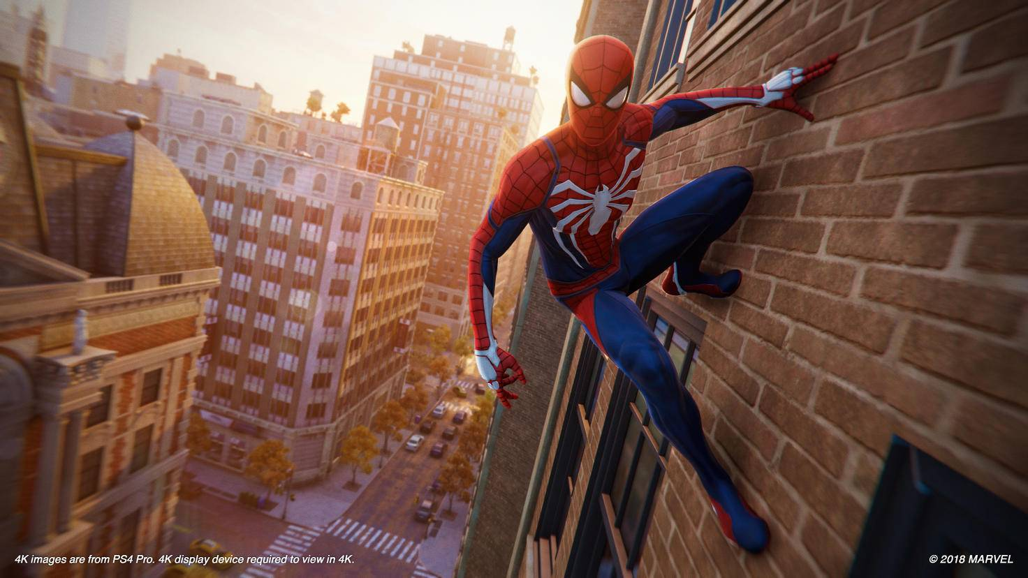 Ein Held und seine Stadt: Spider-Man wacht über New York.