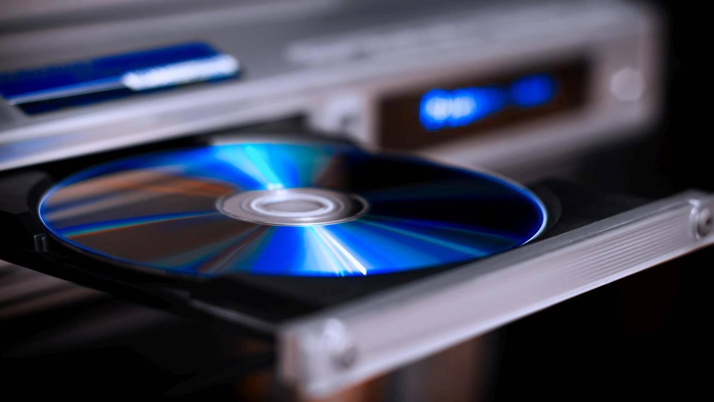 DVD im Laufwerk