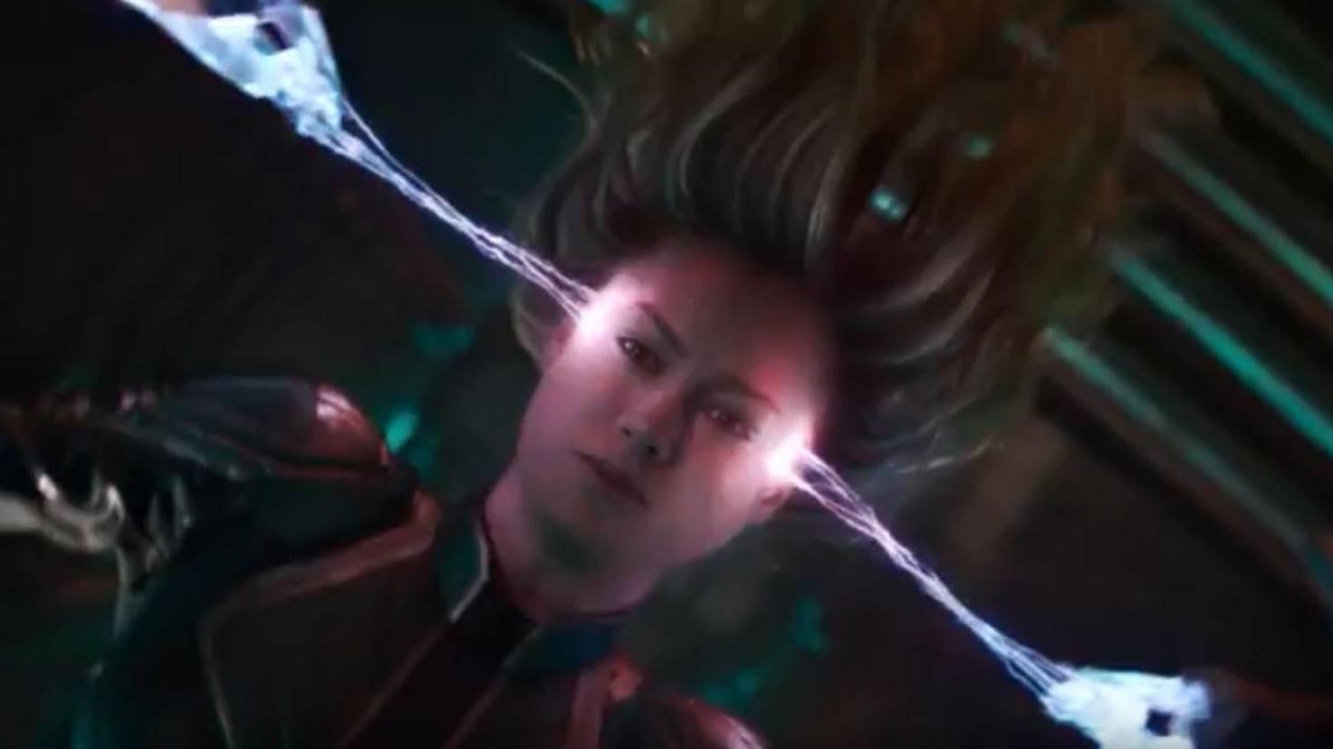 Captain Marvel Amnesie-Szene Trailer