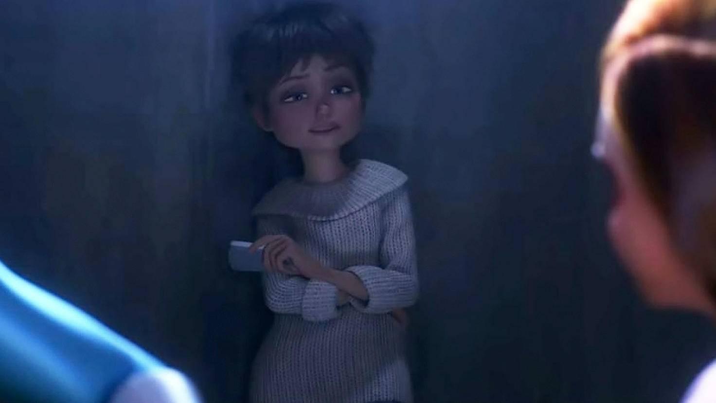 Die Unglaublichen 2-Evelyn Deavor-Youtube-Disney Pixar