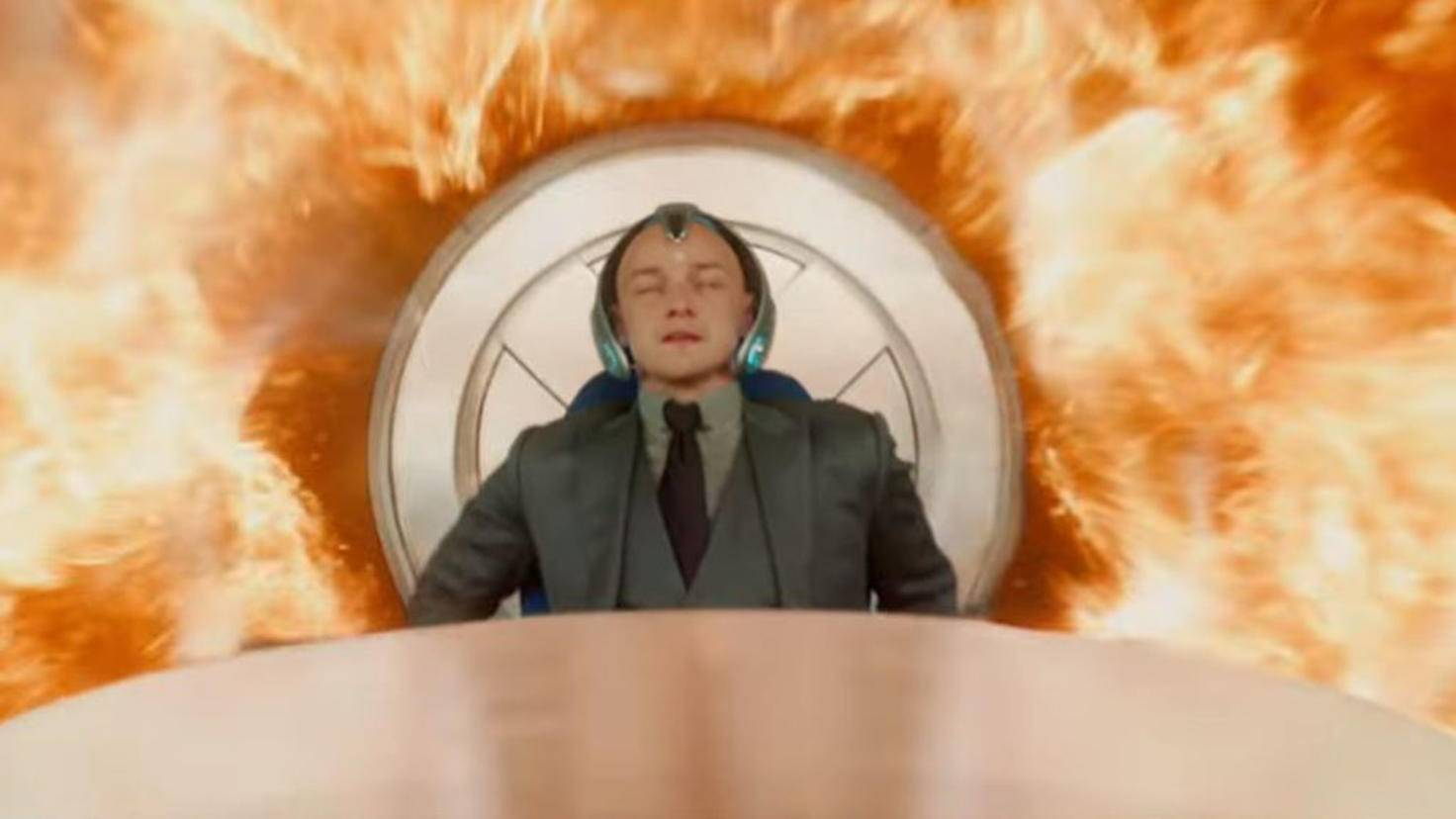 James McAvoy als Professor X 3 in Dark Phoenix FoxKino