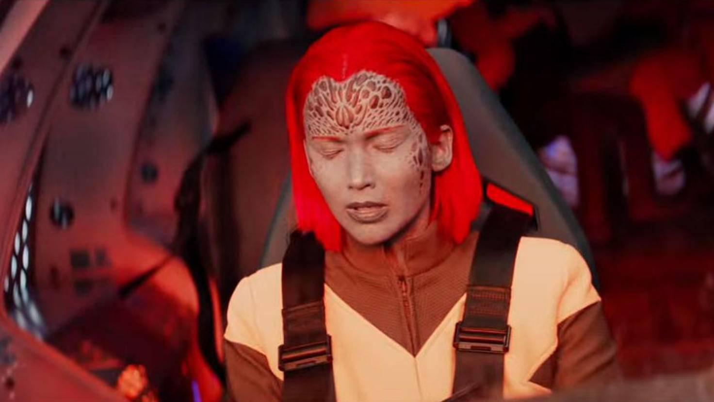 Jennifer Lawrence als Mystique in X-Men Dark Phoenix