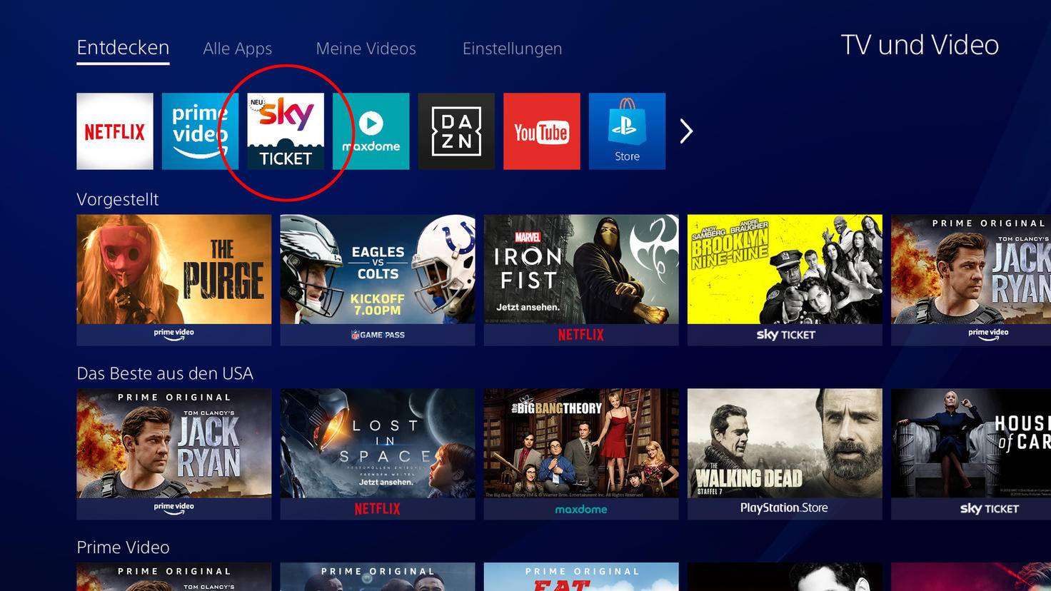 PlayStation Sky Ticket 2
