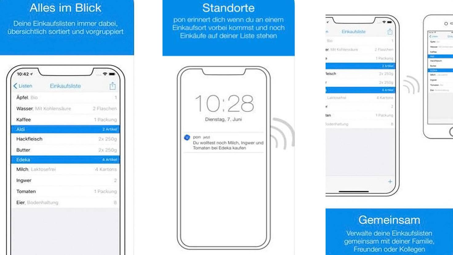Pon Einkaufslisten App-iTunes-Adrian Kuehlewind