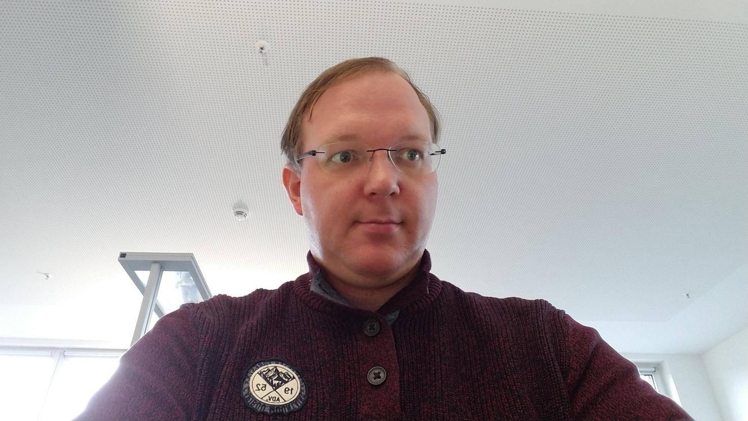 Die Webcam ist für Videokonferenzen gut zu gebrauchen.