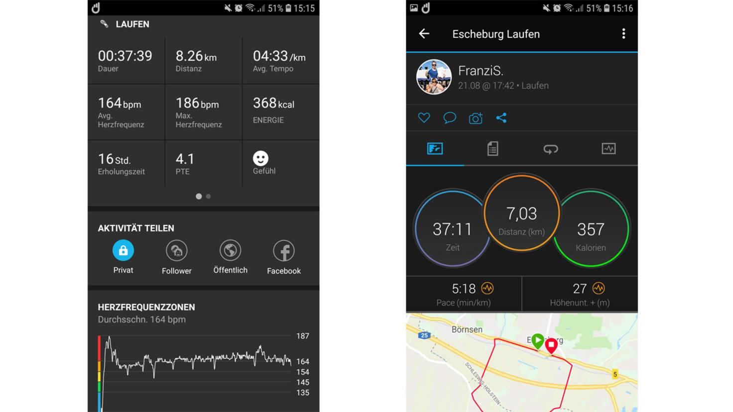 Sunnto 3 Fitness App 1
