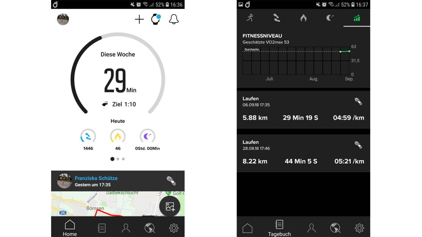 Sunnto 3 Fitness App 2