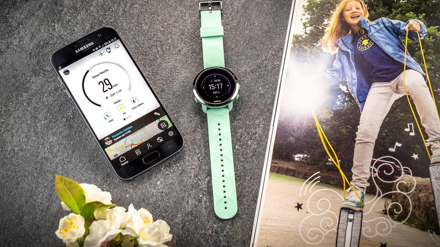 Die Suunto 3 Fitness setzt auf klassisches Uhrendesign.