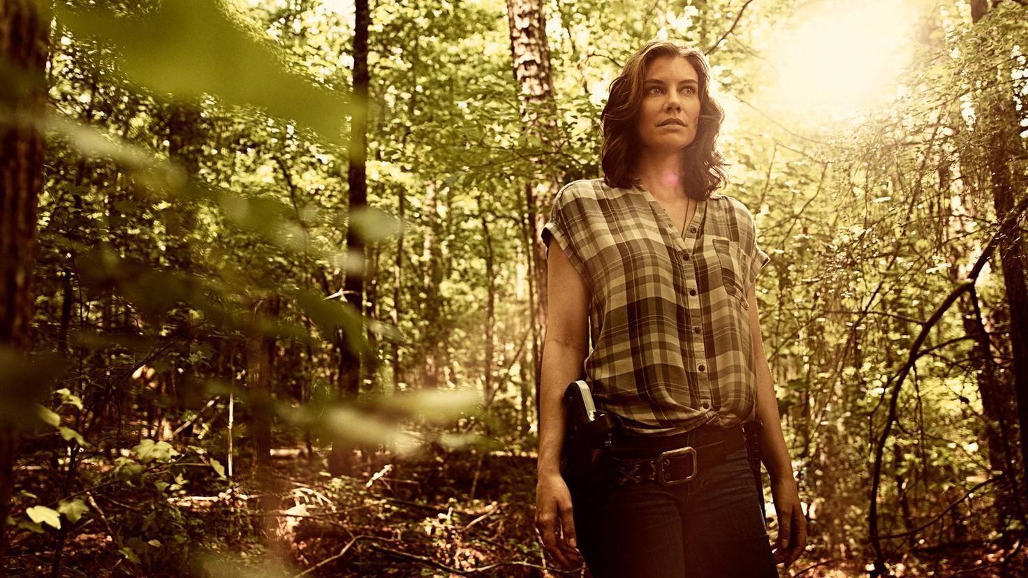 The Walking Dead-S09-Charakter-Art-Lauren Cohan-Maggie-Victoria Will-AMC