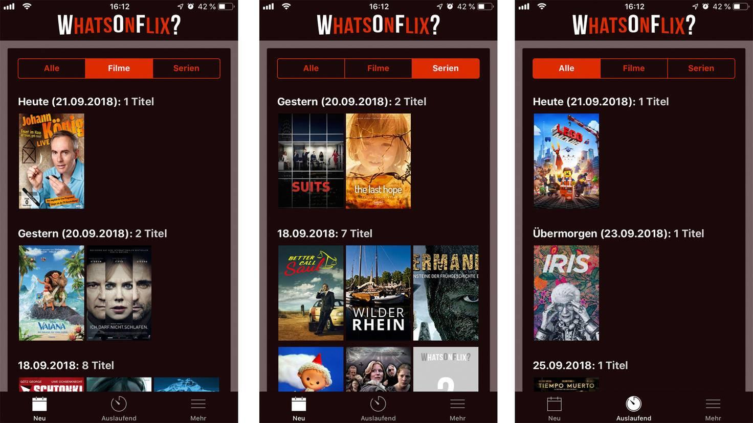 Praktische App für Netflix-User: WhatsOnFlix?