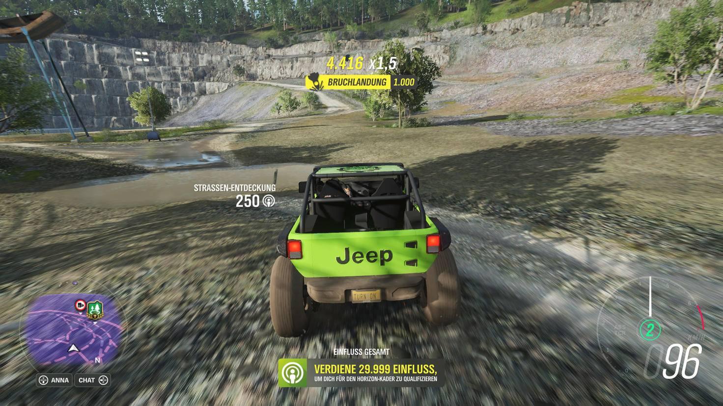"""Verhält sich der """"Forza""""-Jeep exakt wie ein echter? Egal – das Feeling stimmt!"""