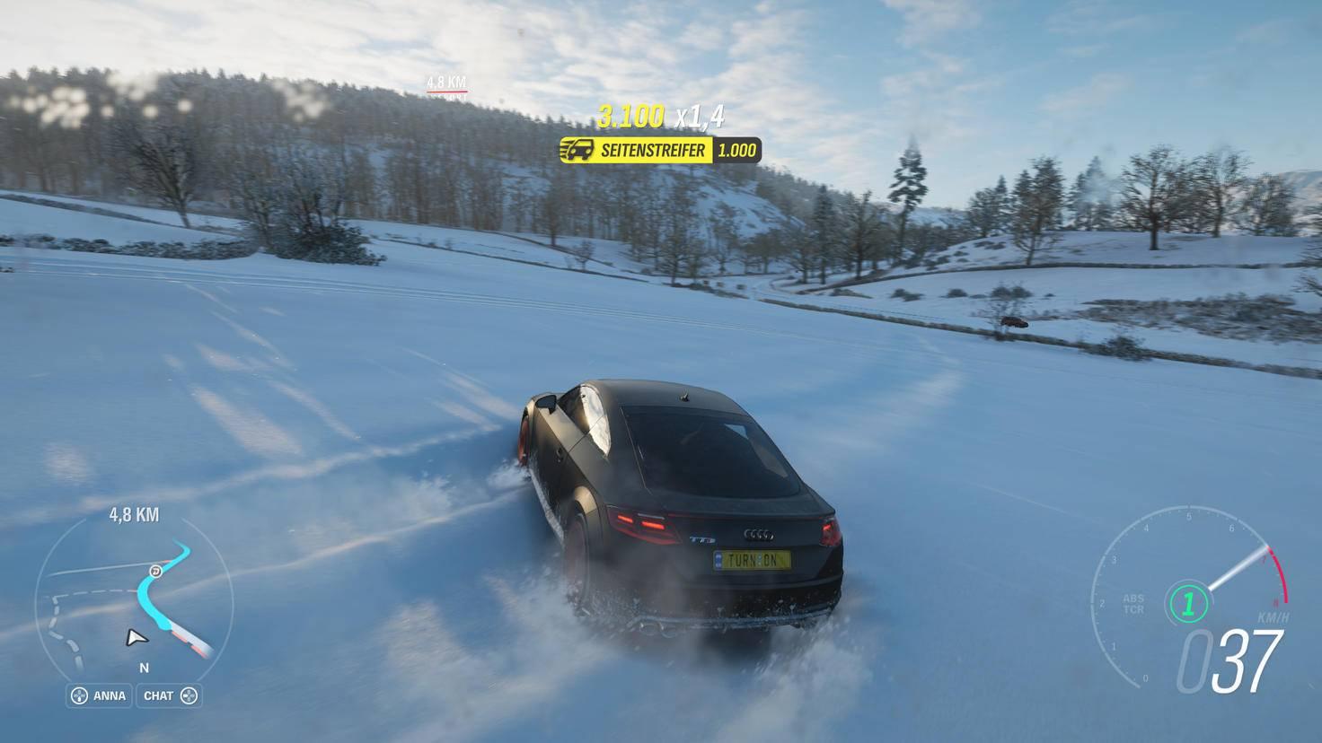 Spuren im Schnee: Der Winter wird quasi sofort zu meiner Lieblings-Jahreszeit.