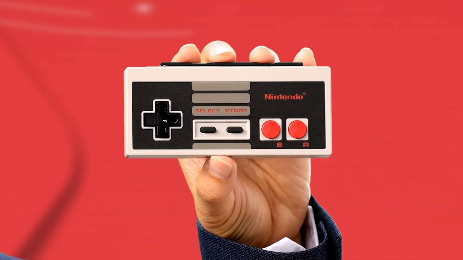 Exklusiv für Abonnenten gibt's den NES-Controller für die Switch.