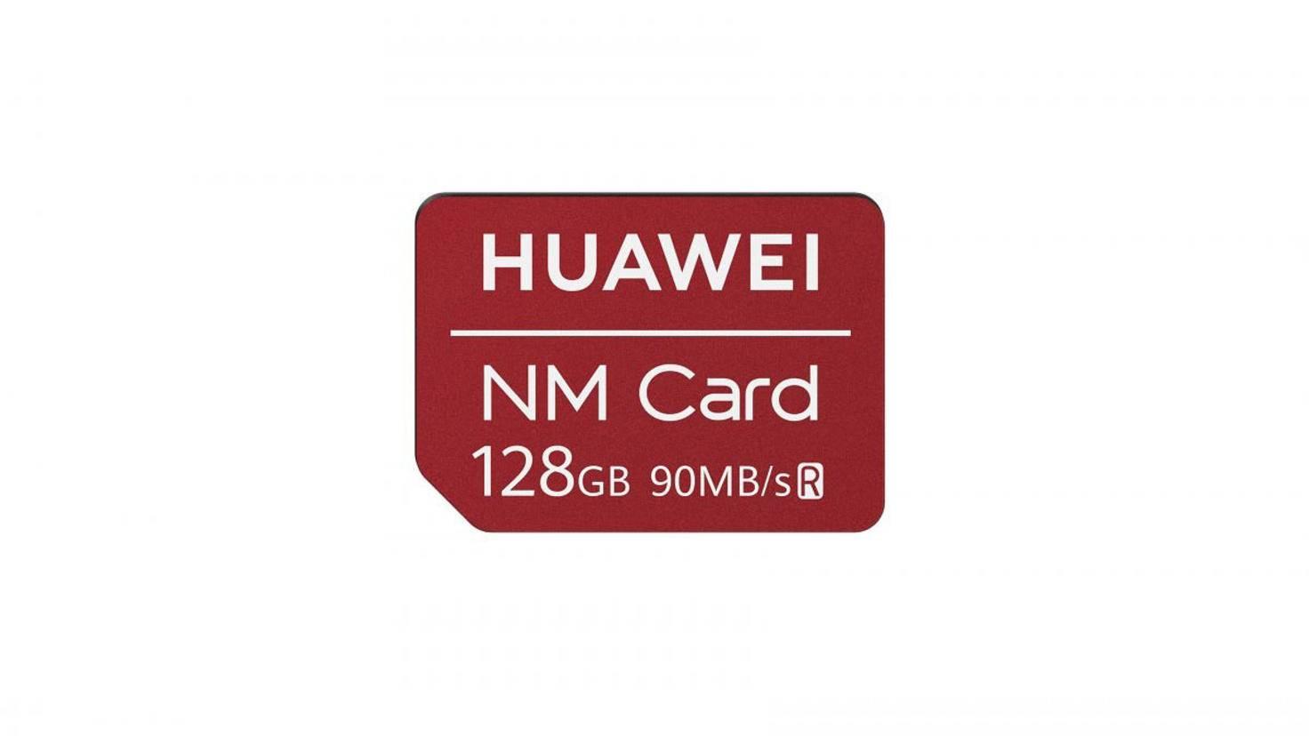 Eine Speicherkarte namens NM soll hohe Transferraten erlauben.