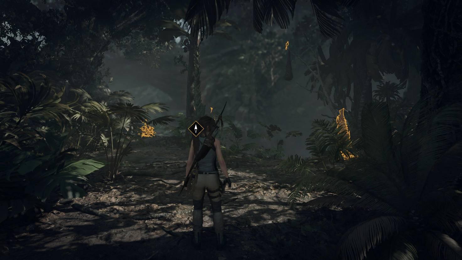 Je höher der Schwierigkeitsgrad, desto weniger Hilfe bekommt Lara.