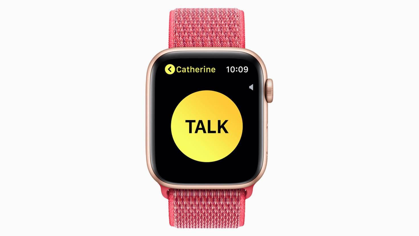 Apple Watch Series 4-Walkie Talkie-Apple