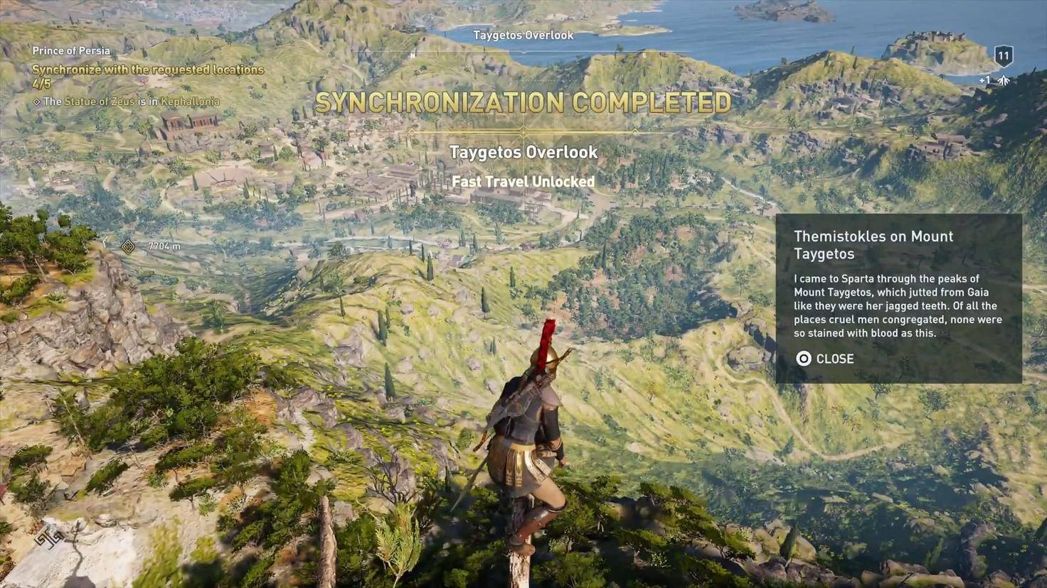 Assassins Creed Odyssey Berg Taygetos