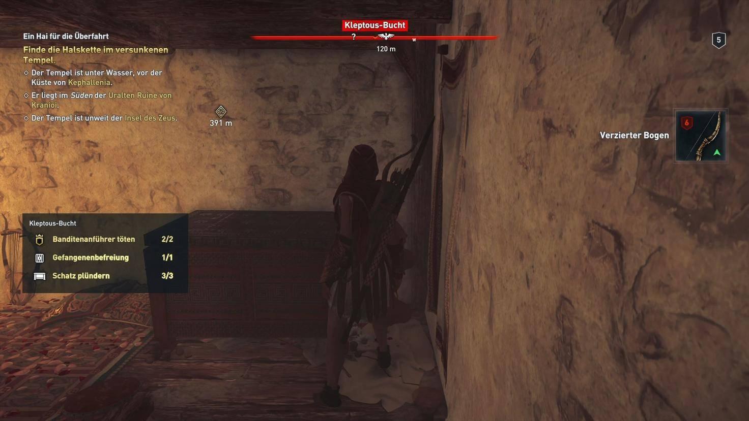 Assassins Creed Odyssey Schatz plündern