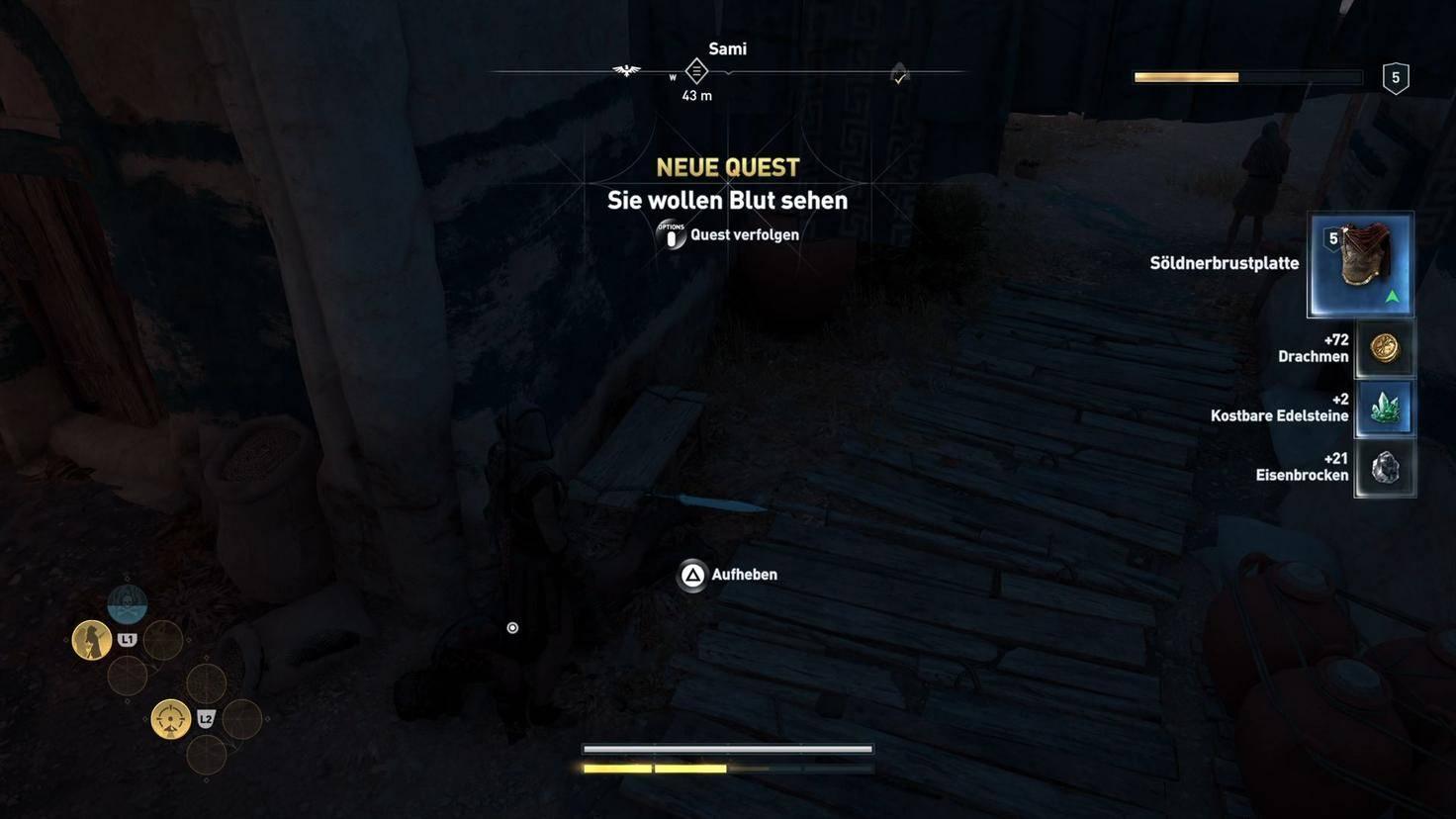 Assassins Creed Odyssey Söldner Loot