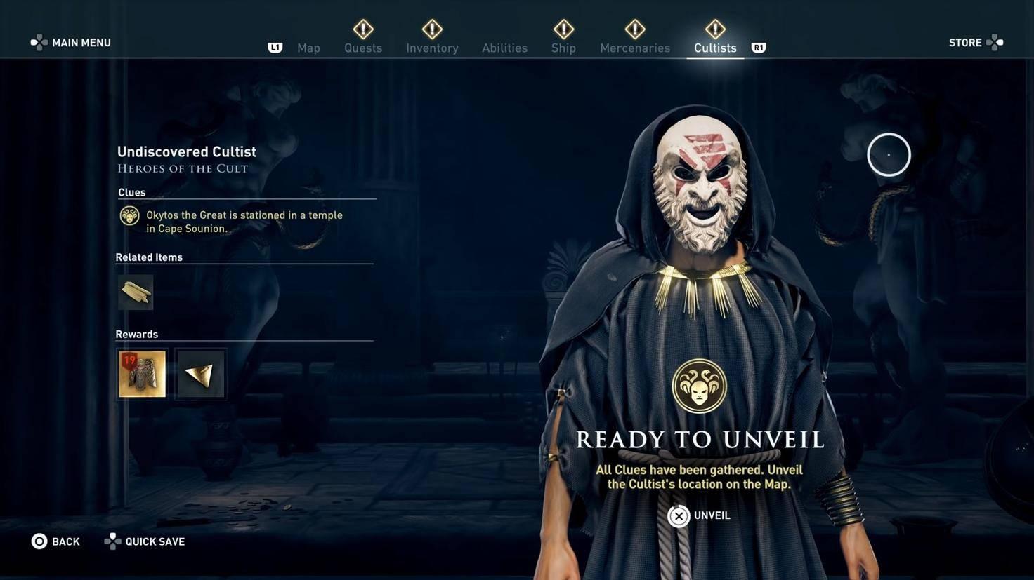 Assassins Creed Odyssey kult des kosmos01