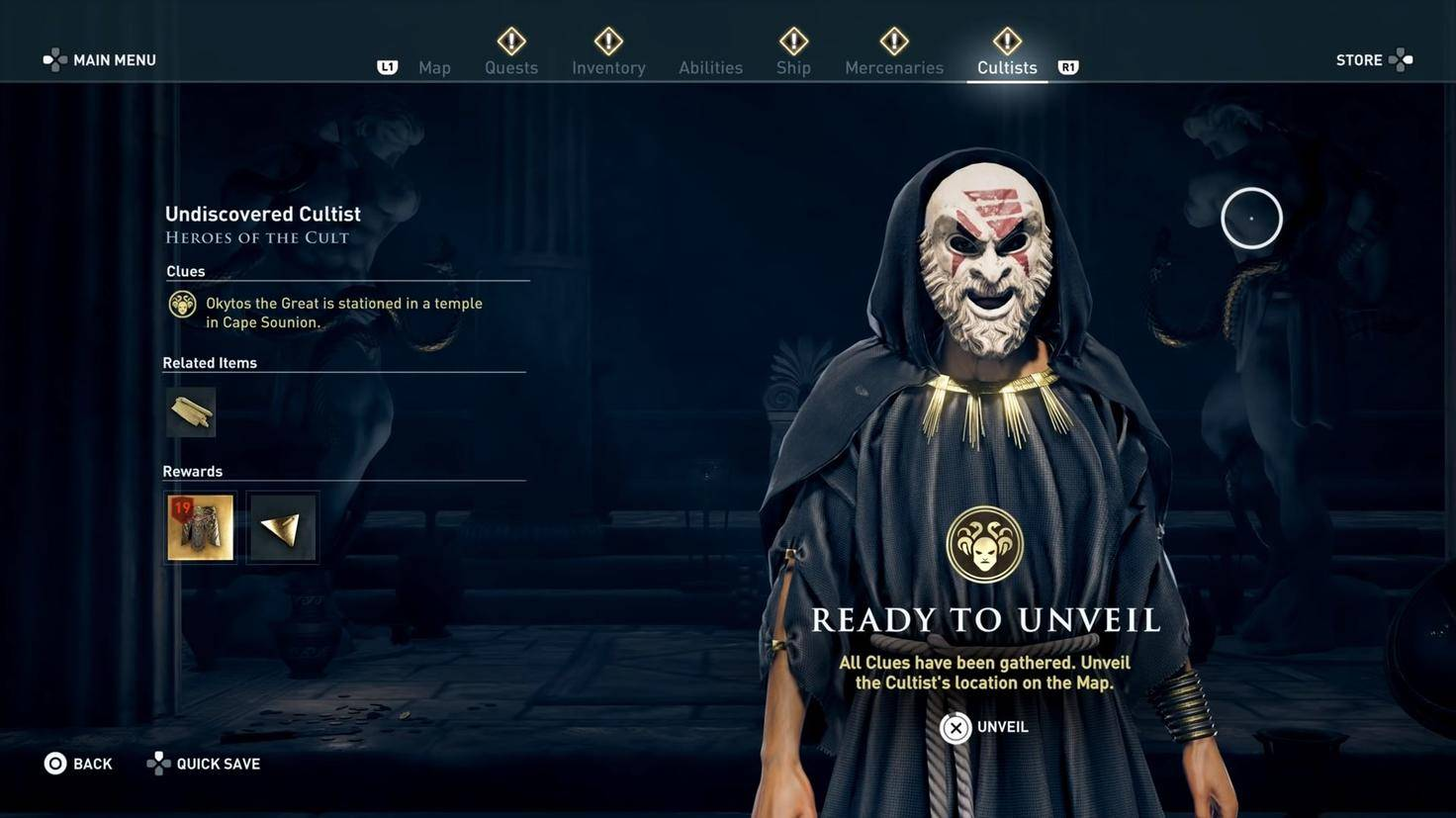 Assassins Creed Odyssey kult des kosmos01