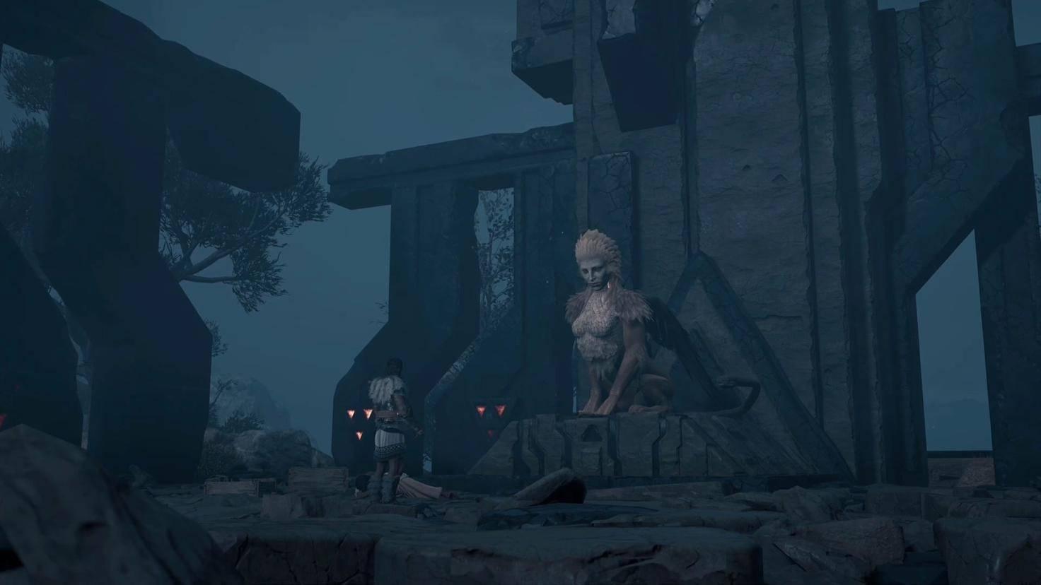 Assassins Creed Odyssey sphinx