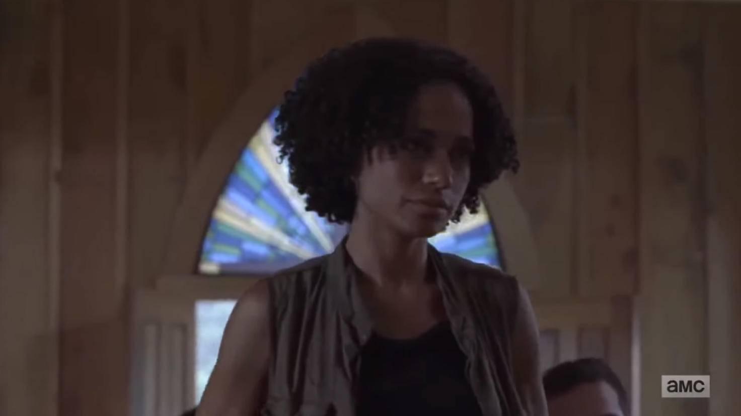 Connie ist auf eine Person während der Zombieapokalypse unbedingt angewiesen.