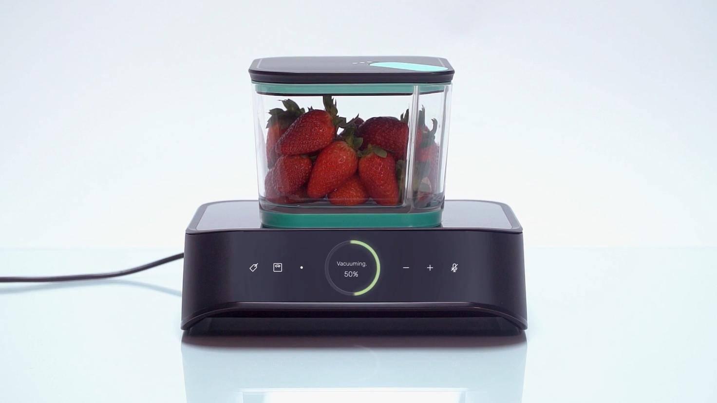 Erdbeeren Silo