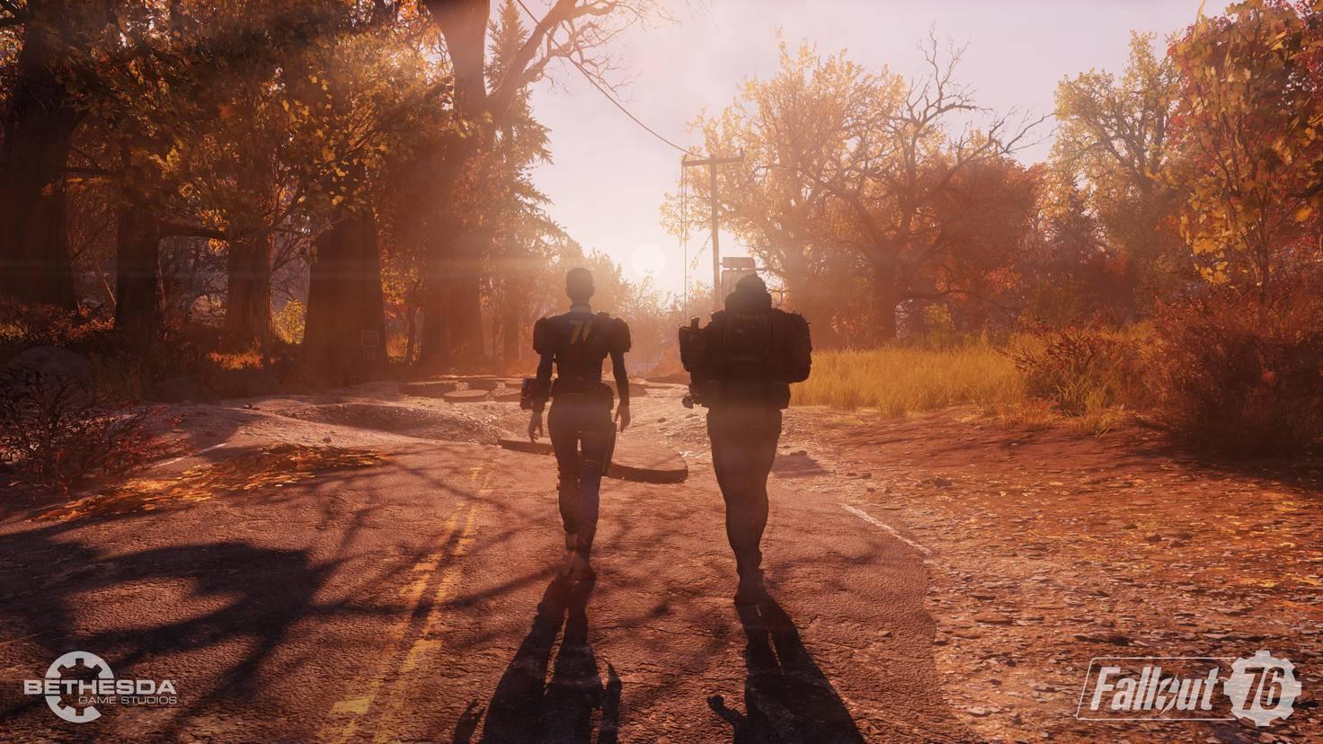 """Bald endlich wieder allein? Der Mehrspieler-Fokus von """"Fallout 76"""" gefiel nicht allen Spielern ..."""