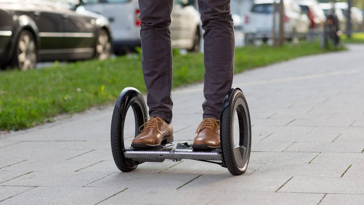 Klappbarer E-Floater Hoverboard Urmo outdoor