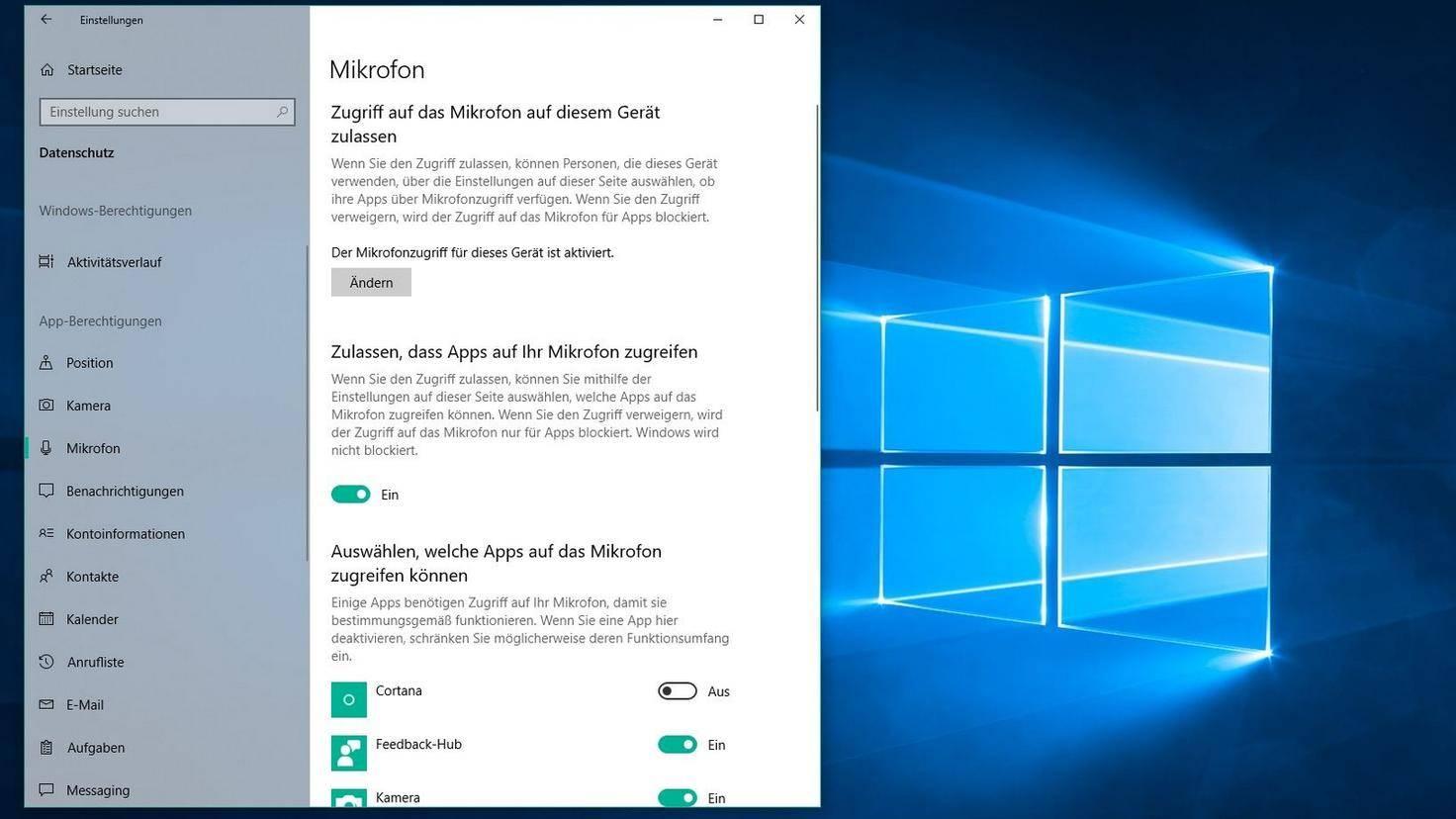 Mikrofon-Windows-10