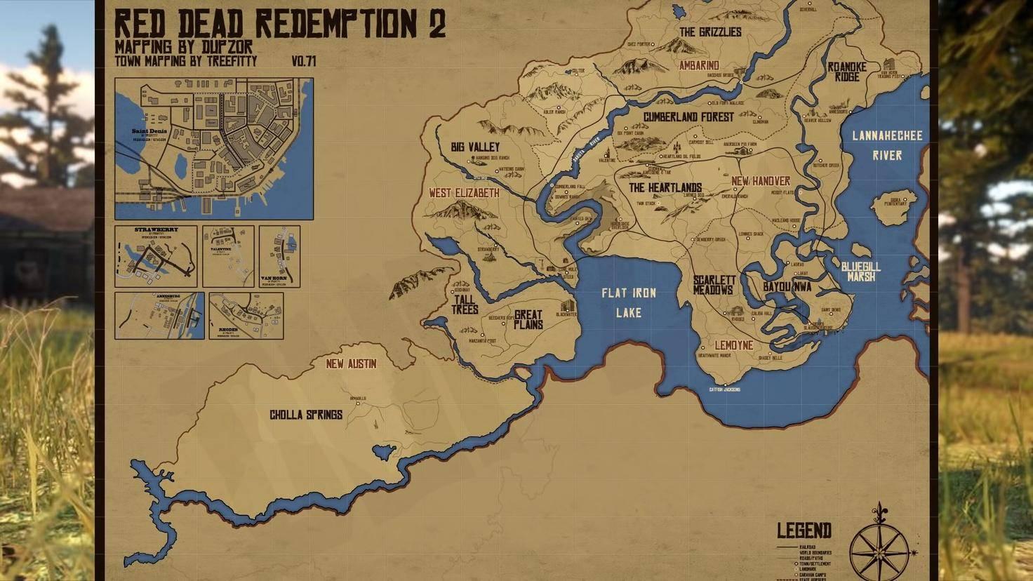 Red dead redemption fanmap