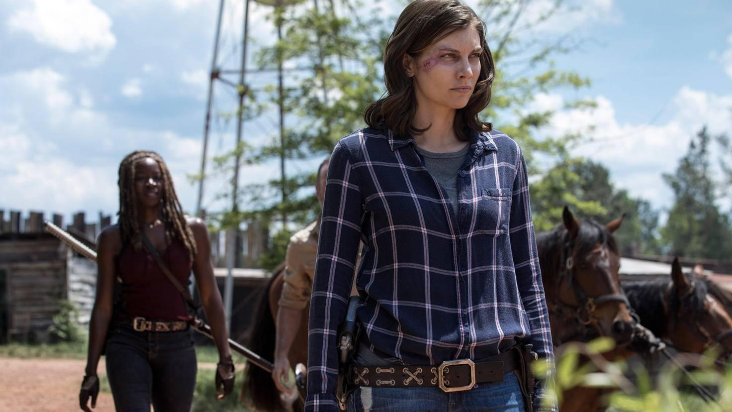 The Walking Dead-S09E01-Maggie-Michonne-Jackson Lee Davis-AMC