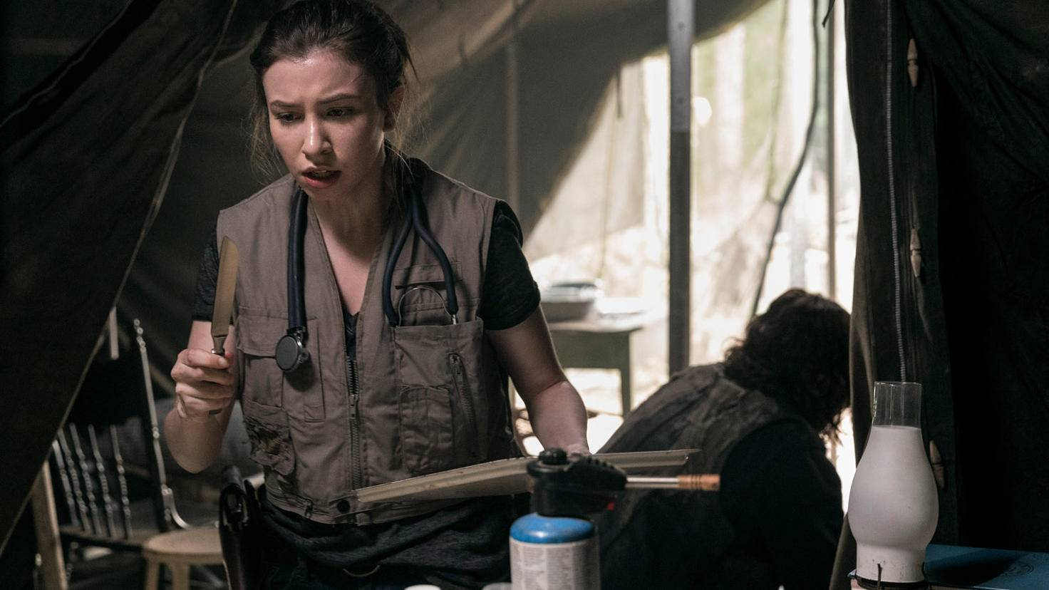 The Walking Dead-S09E02-Enid-Jackson Lee Davis-AMC