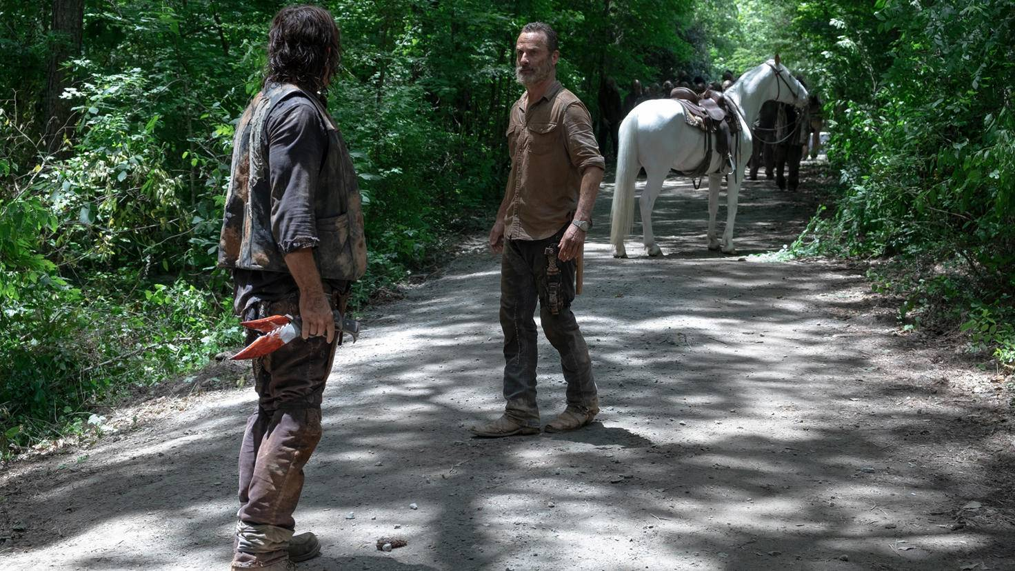 The Walking Dead S09E04-Daryl-Rick-Gene Page-AMC-4