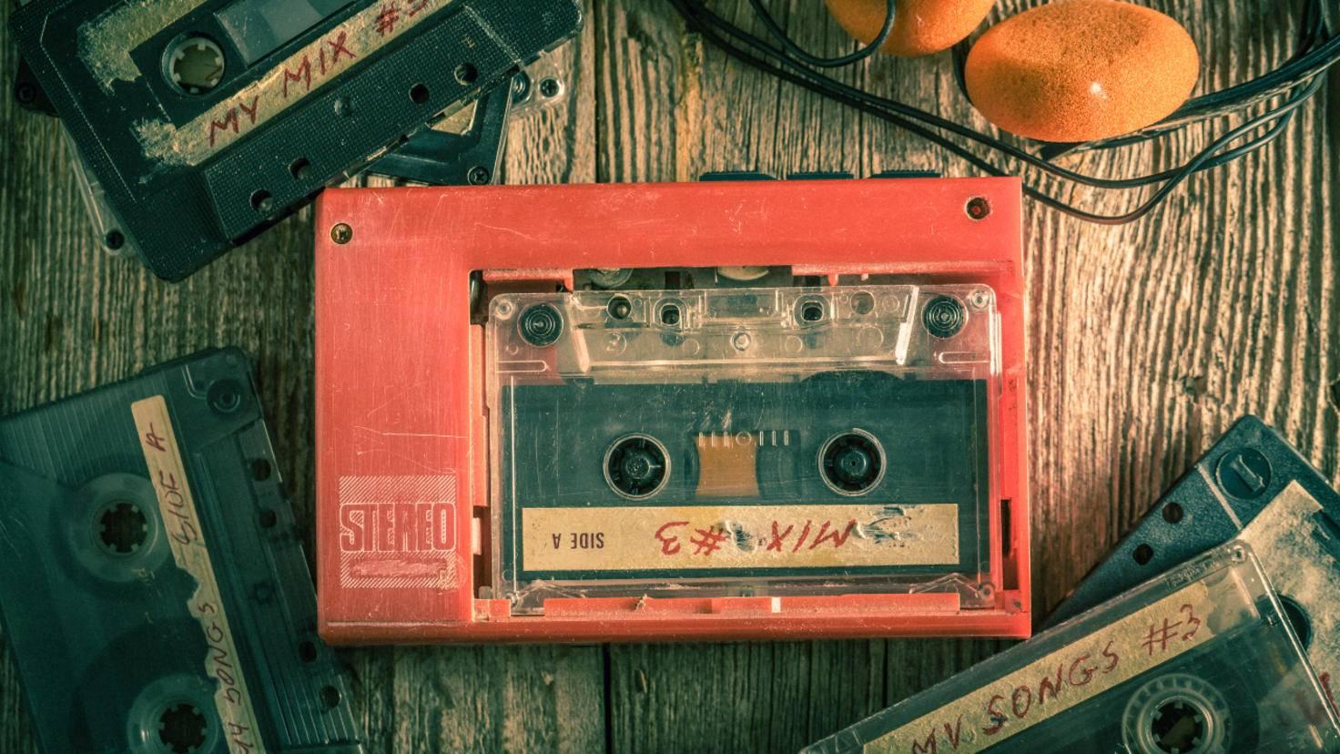 Walkman Kassette Retro