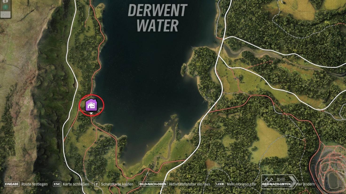 """""""Forza Horizon 4"""": Fundort des Spielerhauses """"Derwent Mansion"""""""