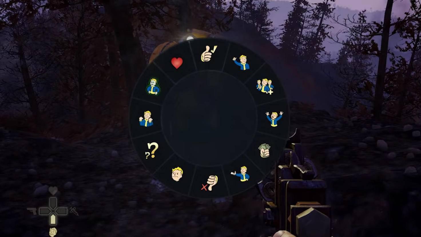 Emotes machen die Kommunikation mit anderen Spielern leicht.