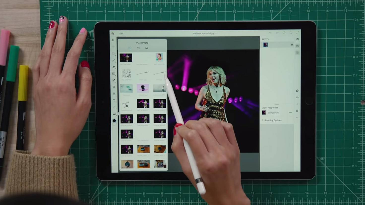 iPad Photoshop
