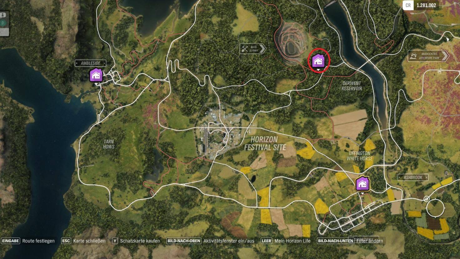 """Forza Horizon 4"": Fundort des Spielerhauses ""Kingfisher Cottage"""