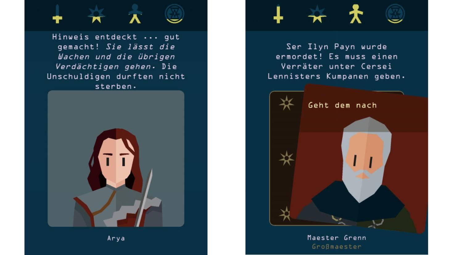 Das ermöglichst verschiedenste Perspektiven: Was wäre, wenn Gendry auf dem Thron säße?