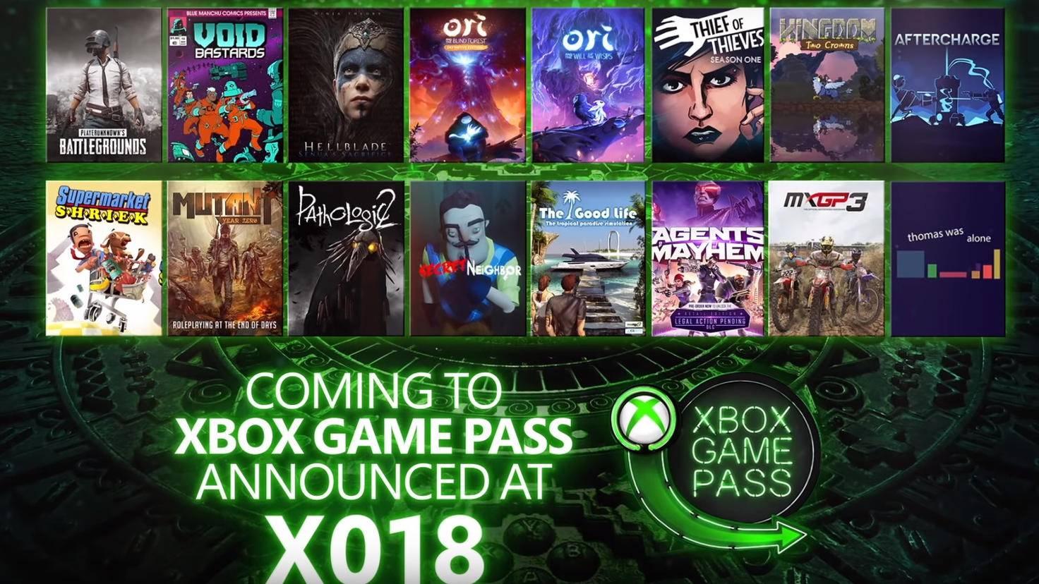 16 neue Games werden in den kommenden Monaten per Game-Pass-Abo spielbar.